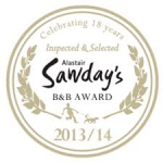 Logo Sawday's B&B 2013